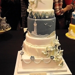 Cake International Silver Award Wedding Cake