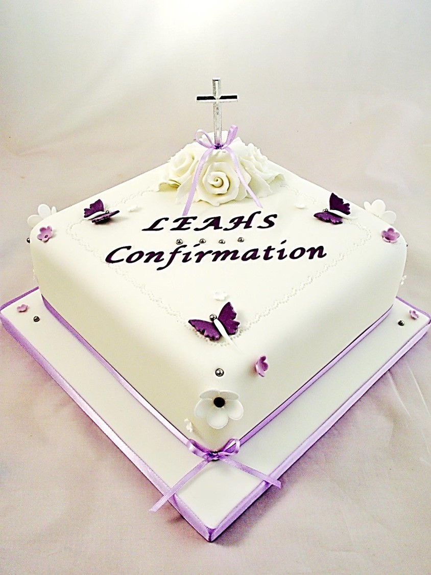Designs For Confirmation Cakes