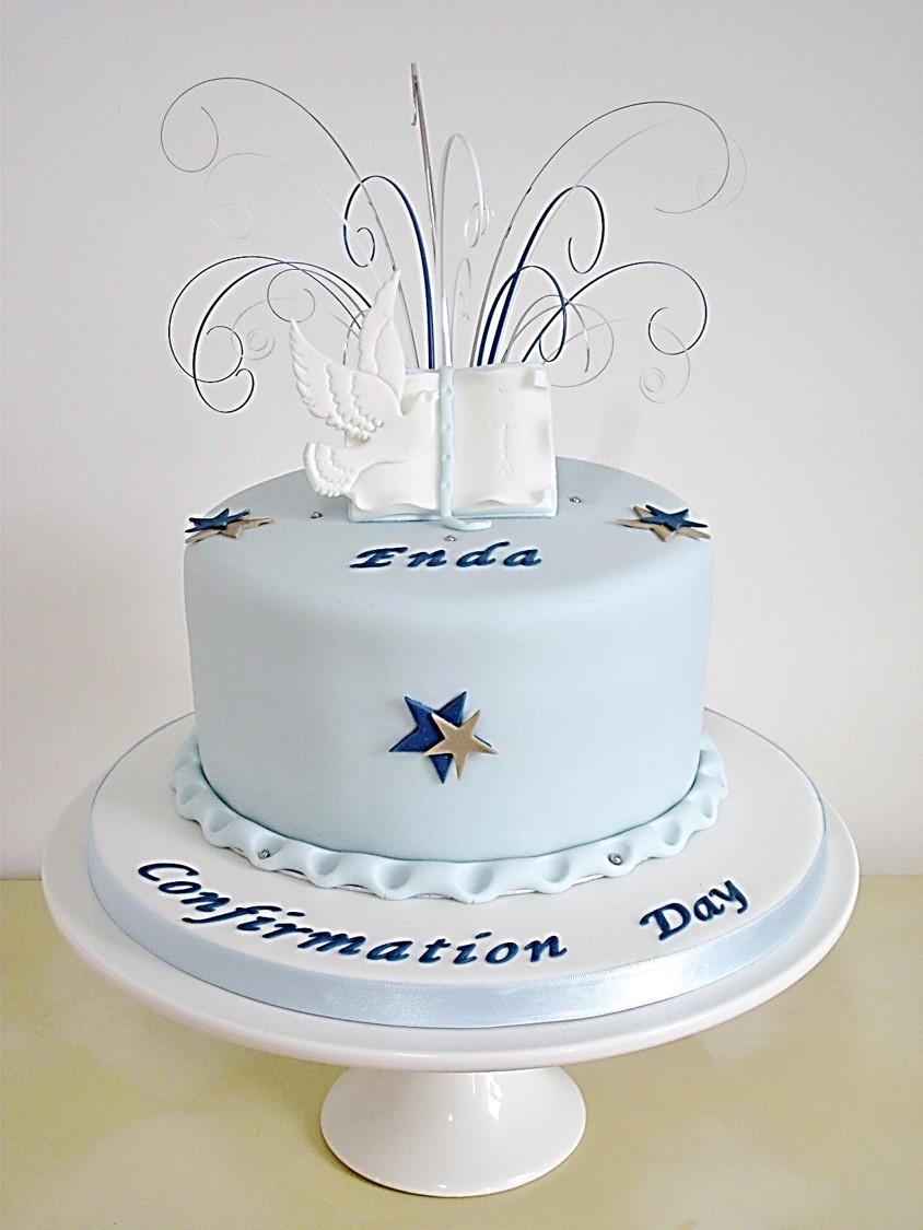 Confirmation Dove Cake Topper