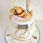 Winnie the Pooh Christening Cake
