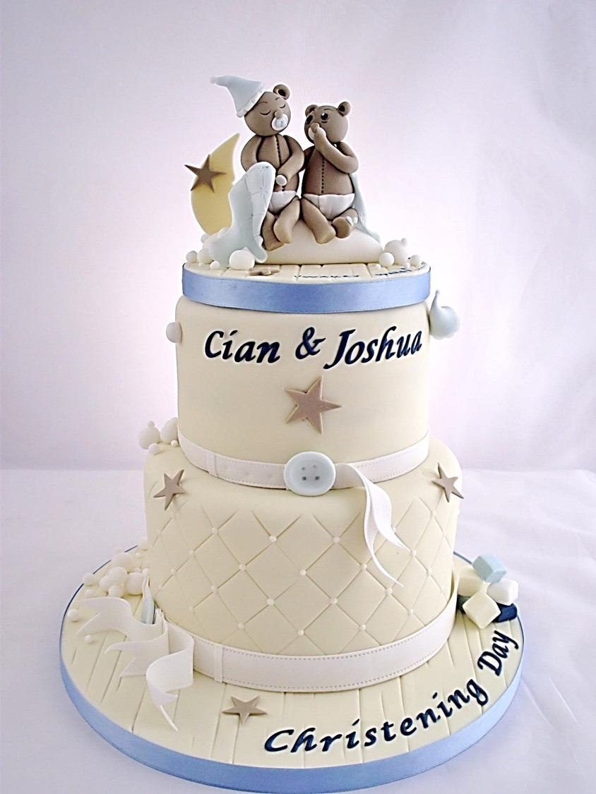 Communion Boy Cake Topper