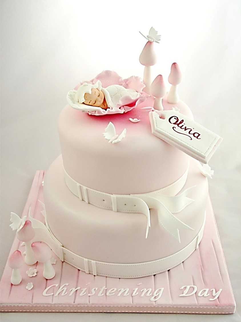 Christening Gown Cake