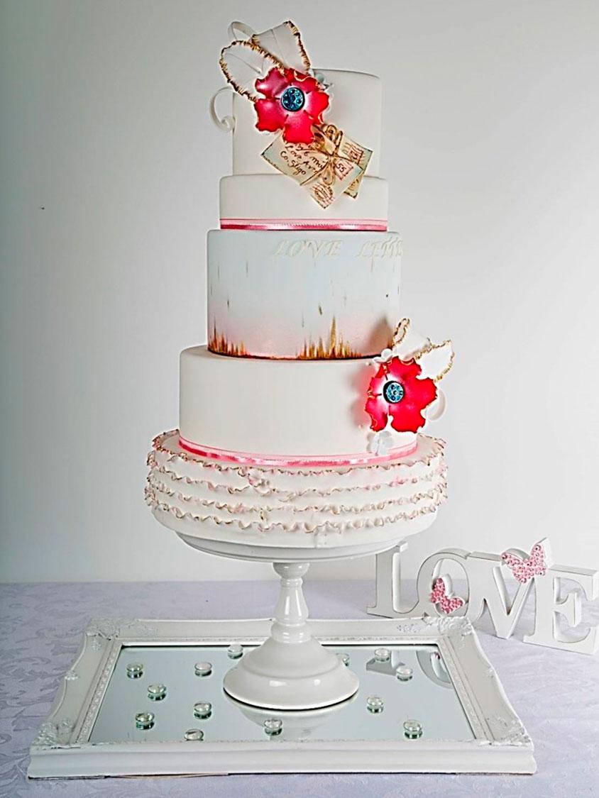 Bespoke Wedding Cakes Sligo Ireland