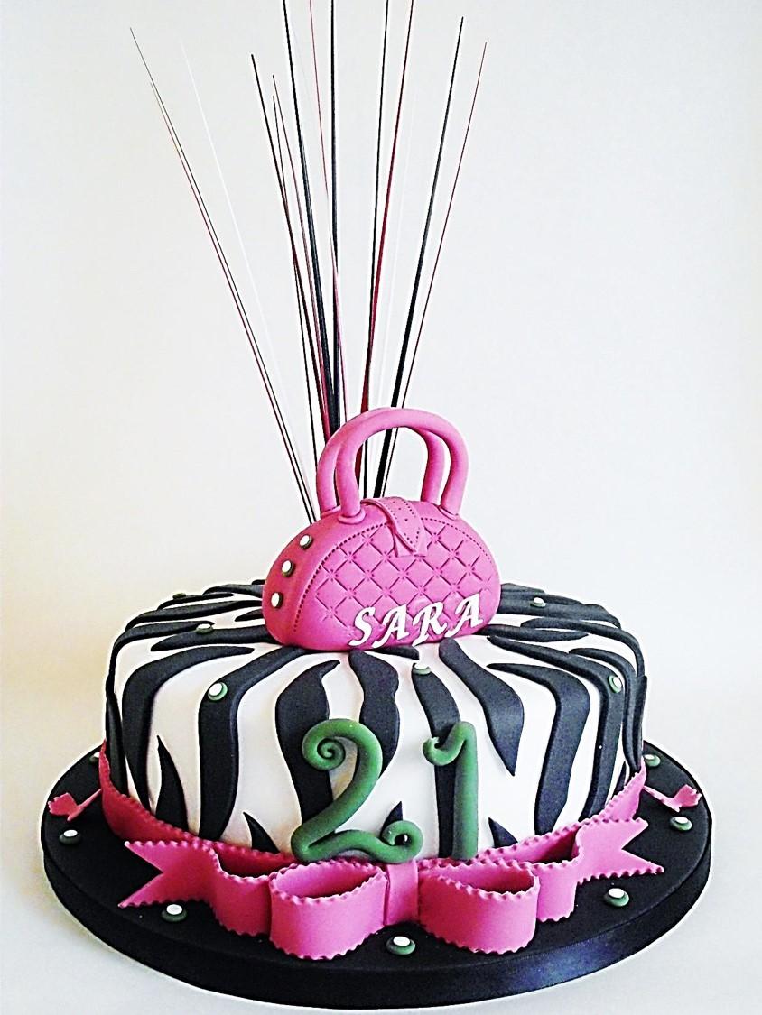 Ladies 21st Birthday Cakes Sligo