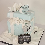 Tiffany gift box Cakes Sligo