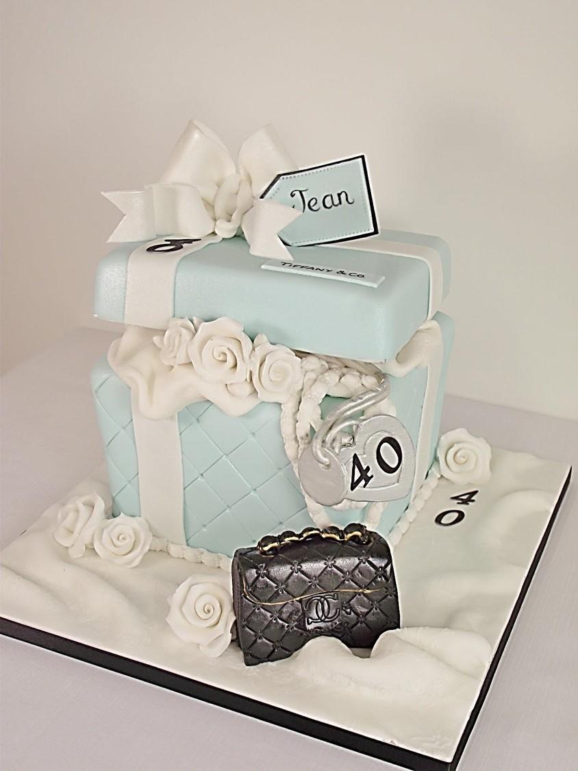 Tiffany gift box Cakes Sligo