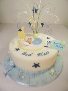 Boys Christening Cake Sligo