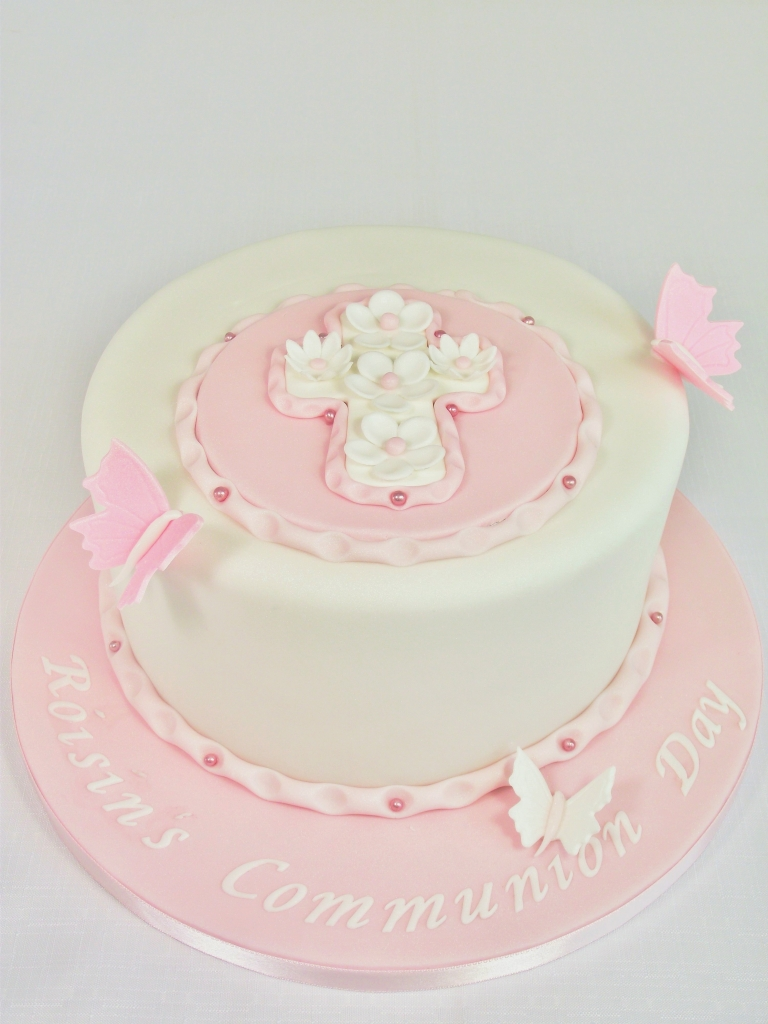 Girls Communion Cake