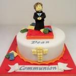 Lego themed Communion Cake