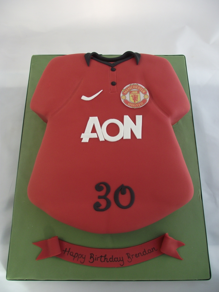 Football Shirt Cakes Sligo Ireland