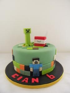 Minecraft Cakes Sligo