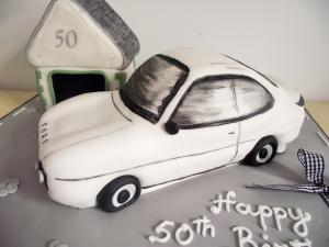 Ford Escort Cake