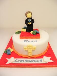 Lego Communion Cake