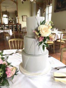 Temple House Wedding cakes.